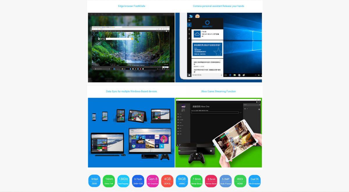 Teclast will spezielle Version des X98 Plus Dual-Boot Tablets für Europa bringen 17