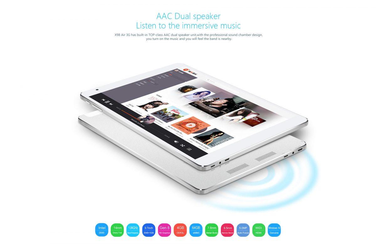Teclast will spezielle Version des X98 Plus Dual-Boot Tablets für Europa bringen 20