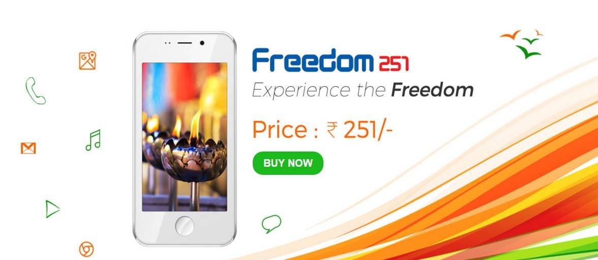 Freedom 251: Das Smartphone für nur 3,30 Euro aus Indien 1