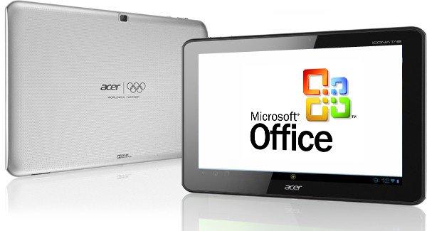 Microsoft Apps zukünftig auch bei Android Geräten von Acer vorinstalliert 2
