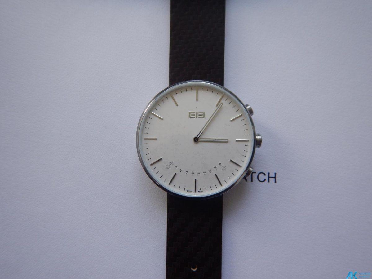 Test / Review: Elephone W2 Smartwatch - Stylisch und minimalistisch 12