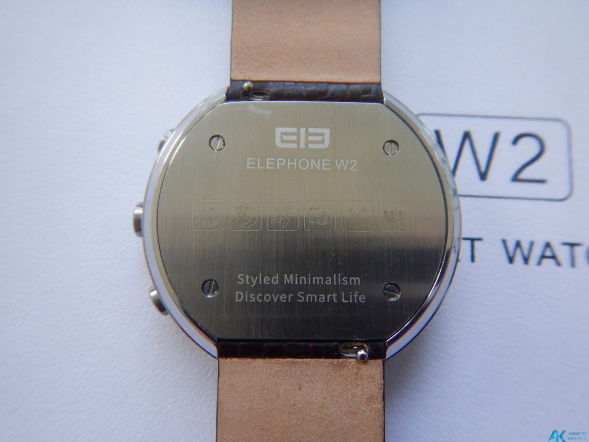 Test / Review: Elephone W2 Smartwatch - Stylisch und minimalistisch 10