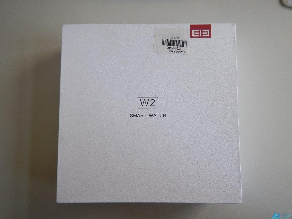 Test / Review: Elephone W2 Smartwatch - Stylisch und minimalistisch 5