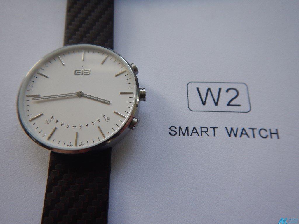 Test / Review: Elephone W2 Smartwatch - Stylisch und minimalistisch 2