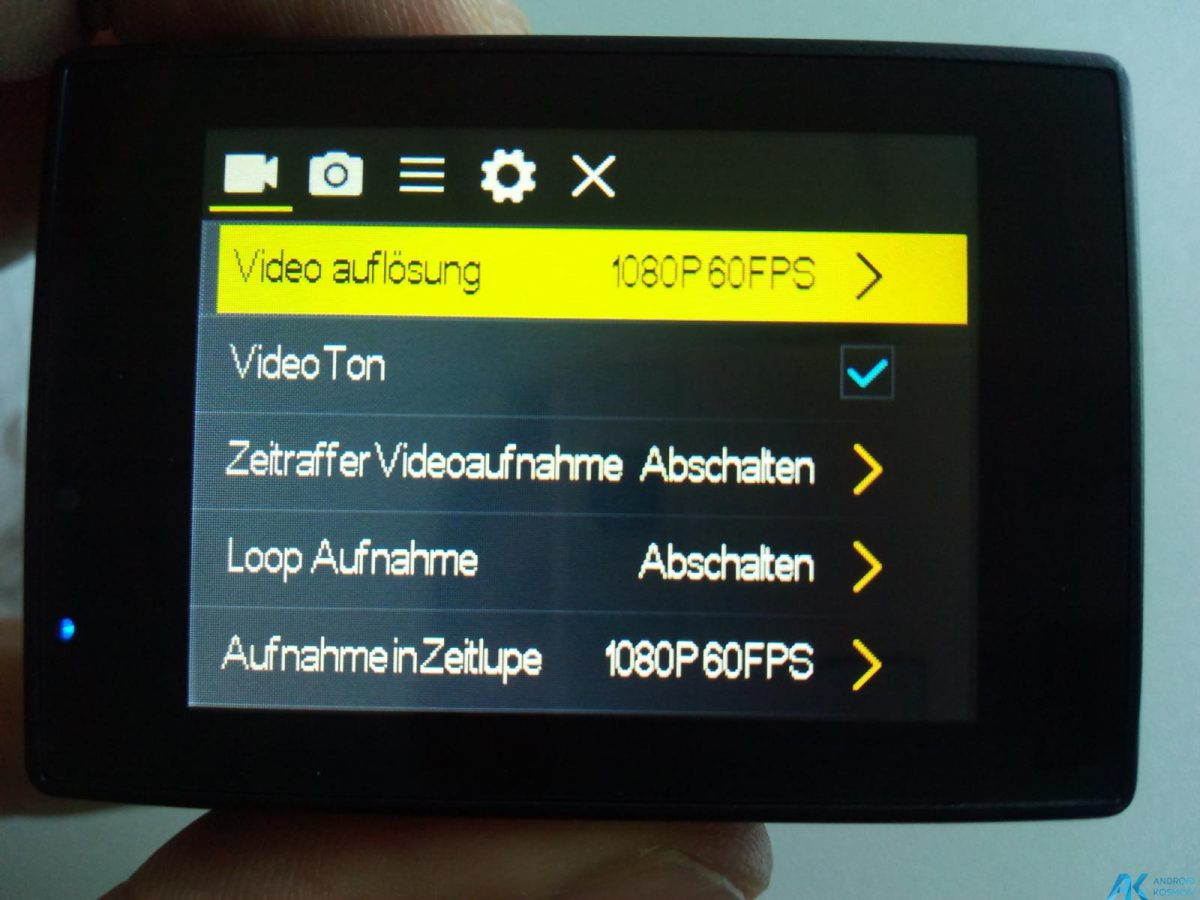 Elephone Ele Cam Explorer test: 4K UltraHD Action Kamera 50