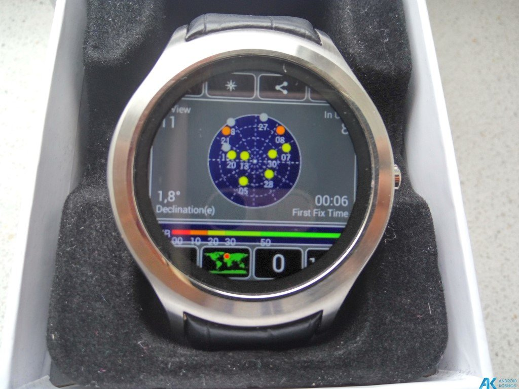 Test / Review No.1 D5 Smartwatch aus Fernost mit nativem Android 16