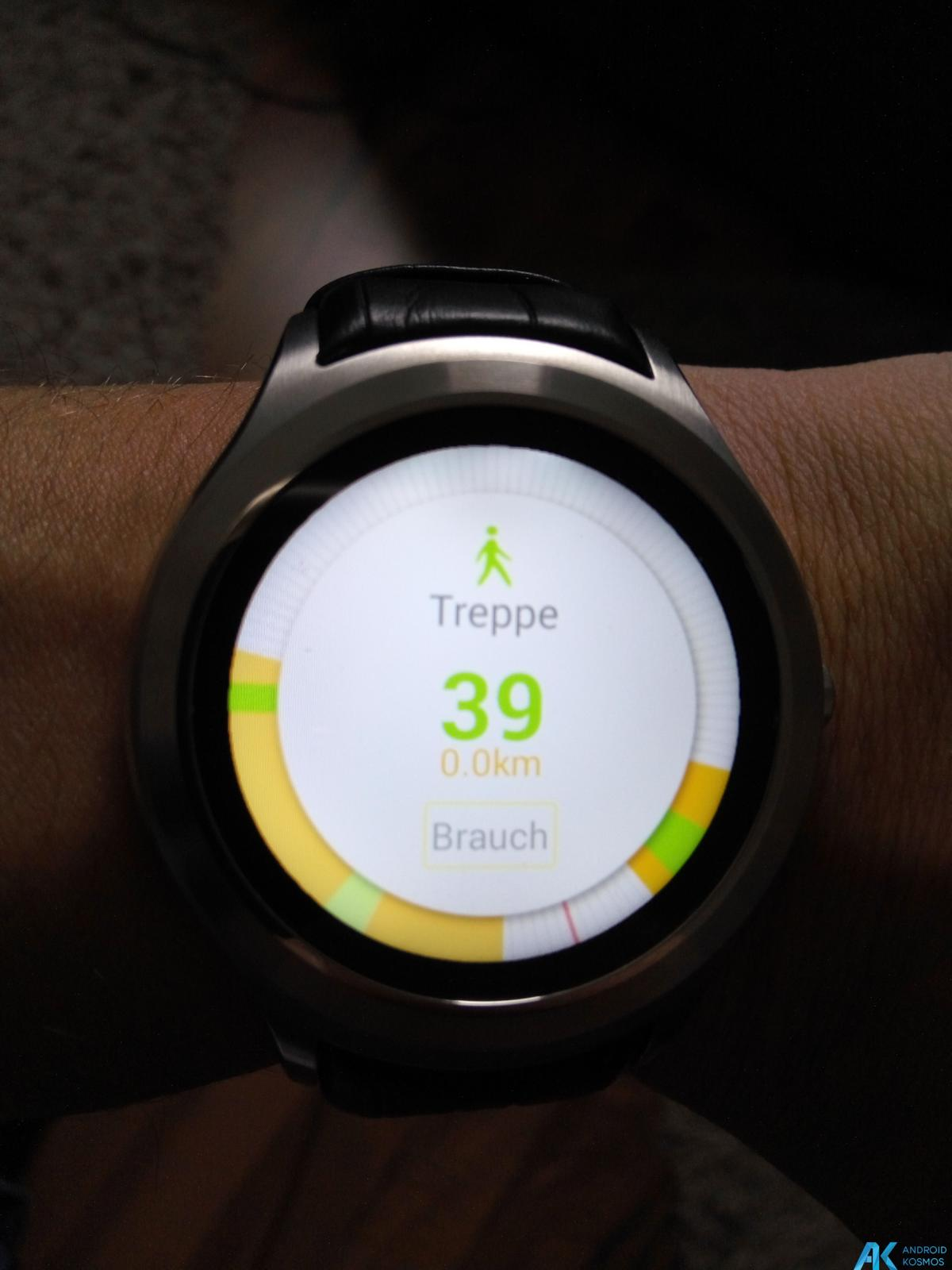 Test / Review No.1 D5 Smartwatch aus Fernost mit nativem Android 10