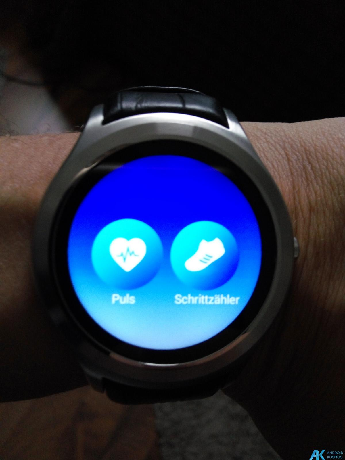 Test / Review No.1 D5 Smartwatch aus Fernost mit nativem Android 11