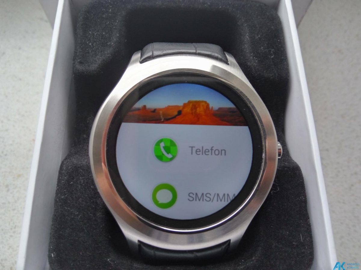 Test / Review No.1 D5 Smartwatch aus Fernost mit nativem Android 3