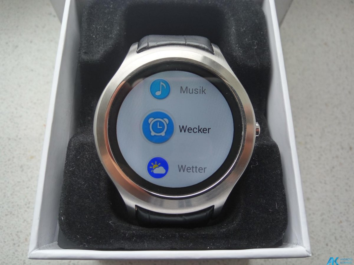 Test / Review No.1 D5 Smartwatch aus Fernost mit nativem Android 4