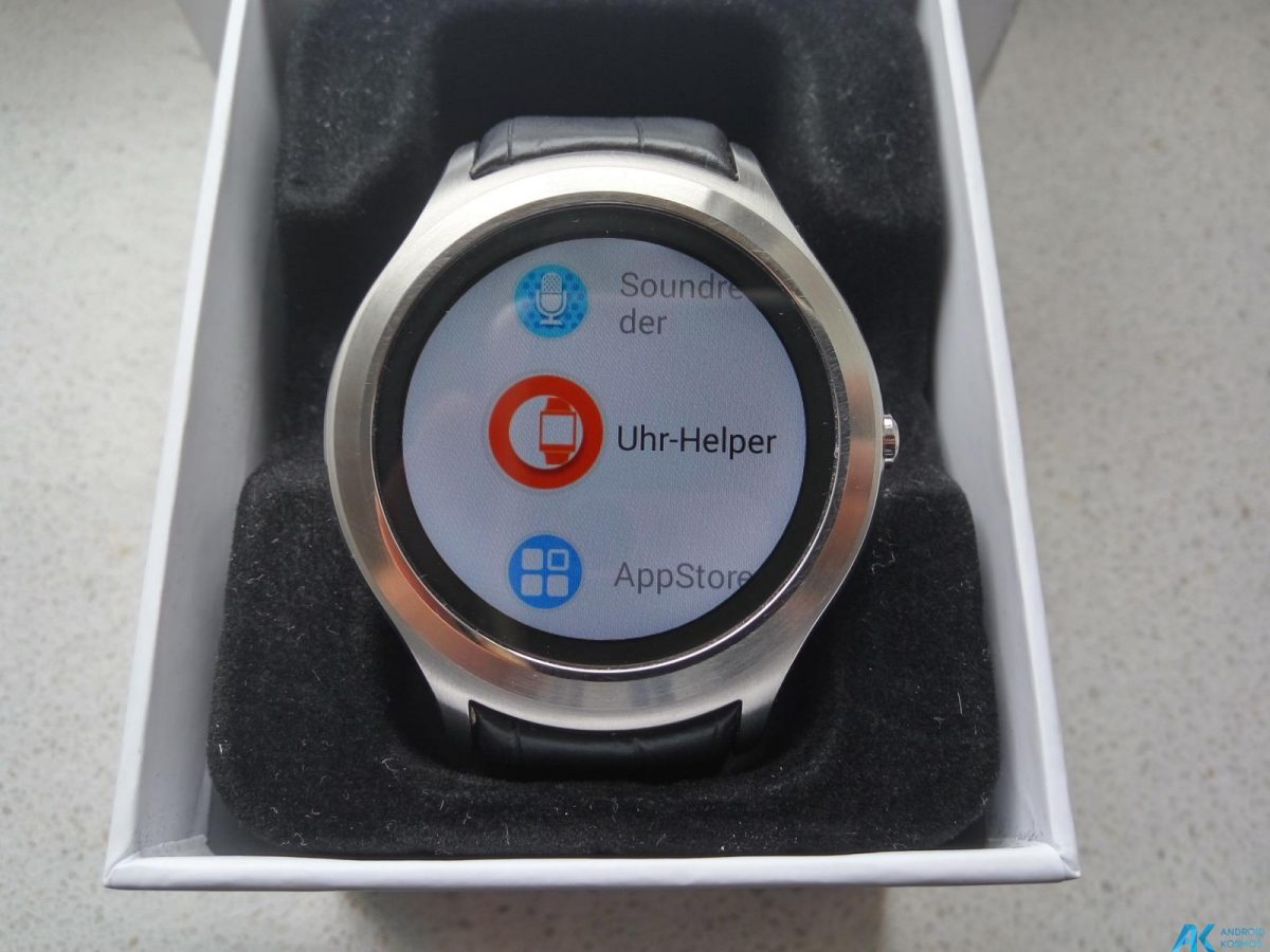 Test / Review No.1 D5 Smartwatch aus Fernost mit nativem Android 5