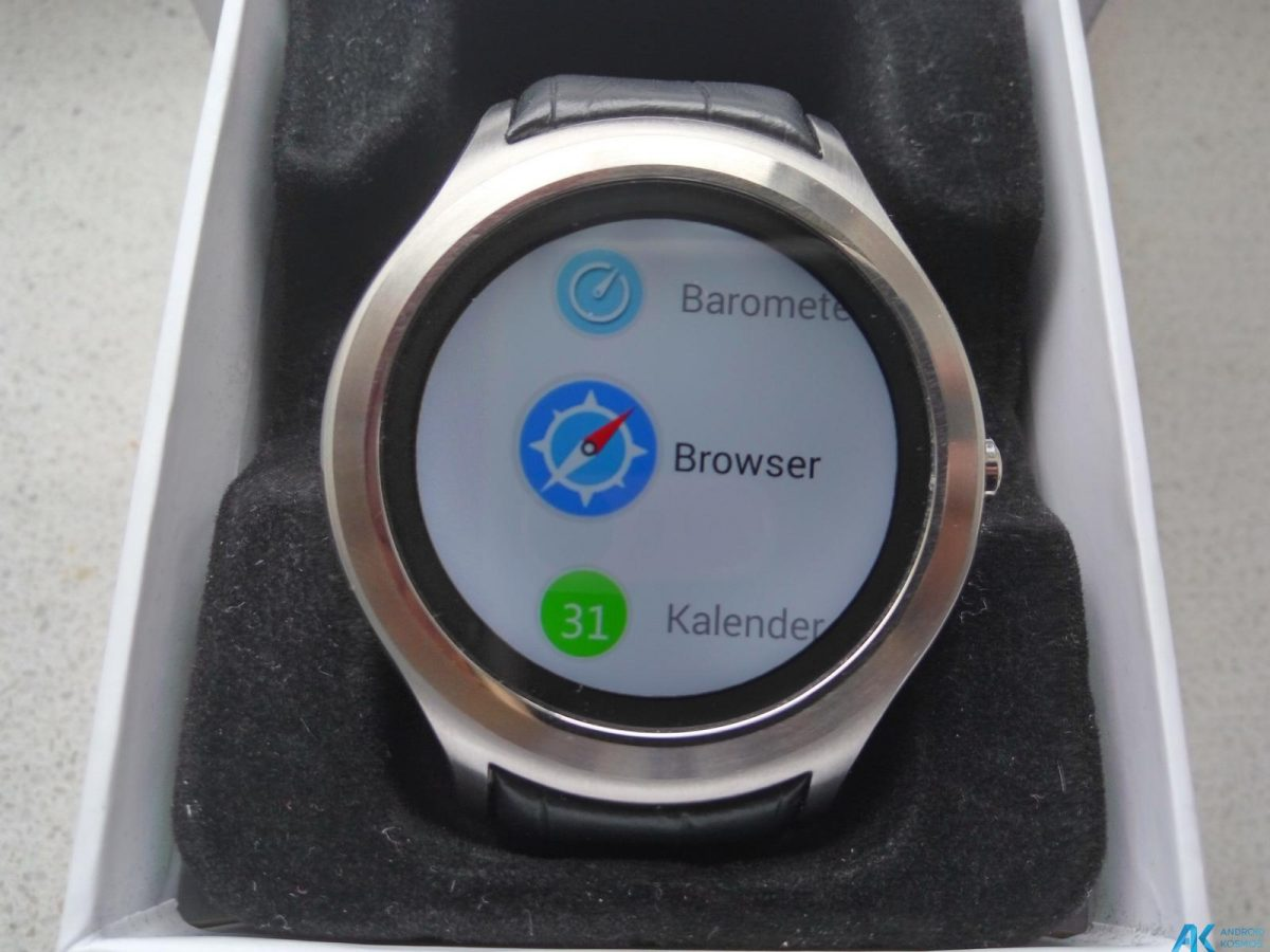 Test / Review No.1 D5 Smartwatch aus Fernost mit nativem Android 6