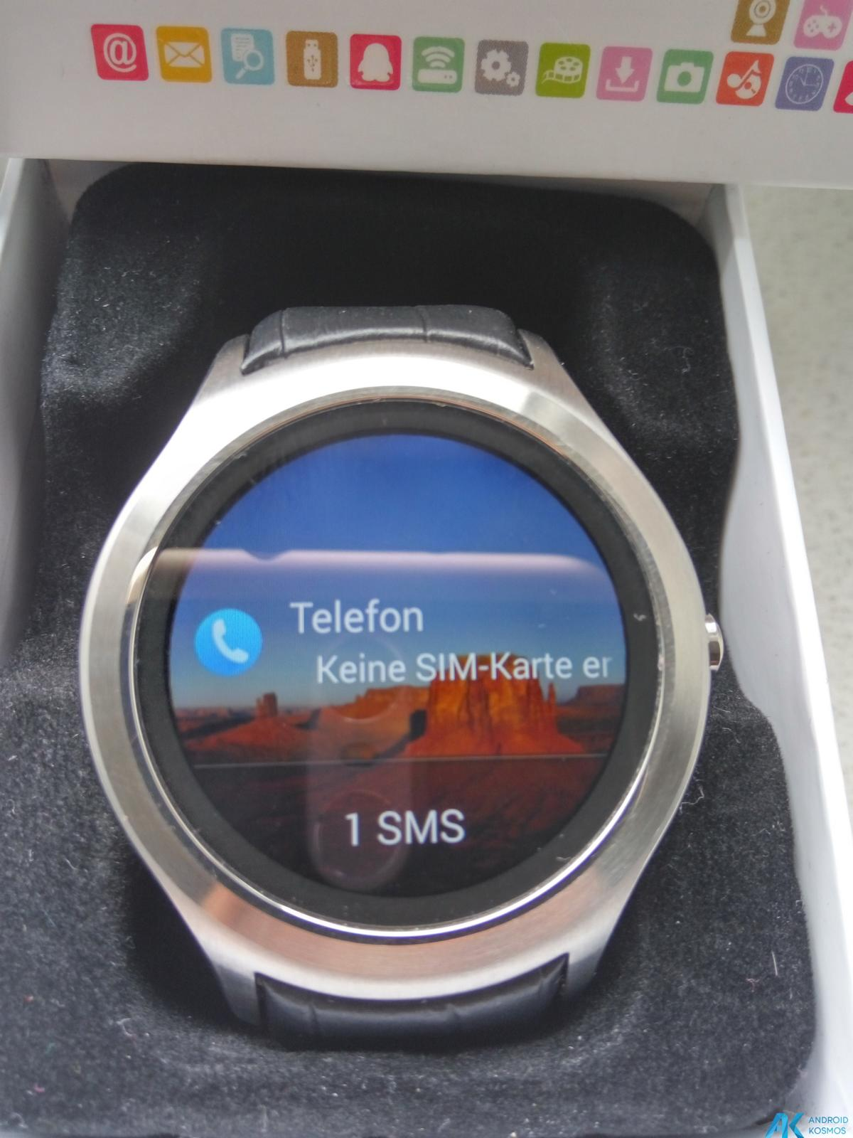 Test / Review No.1 D5 Smartwatch aus Fernost mit nativem Android 18