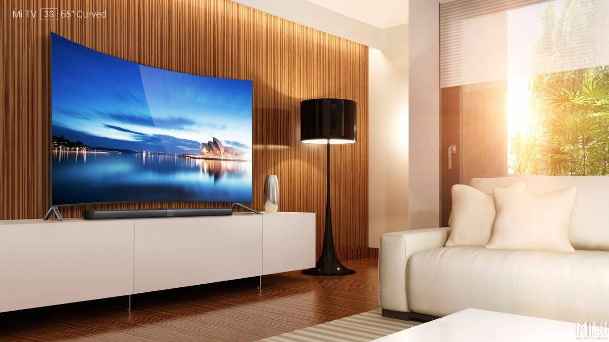Xiaomi stellt den ersten eigenen Curved-TV offiziell vor 1