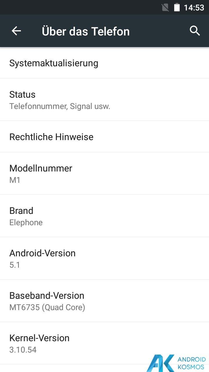 Test / Review Elephone M1 - Schickes Low Budget Smartphone mit Einbußen 8
