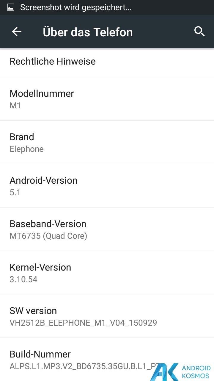 Test / Review Elephone M1 - Schickes Low Budget Smartphone mit Einbußen 9