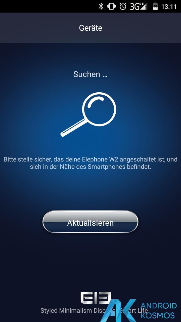 Test / Review: Elephone W2 Smartwatch - Stylisch und minimalistisch 26