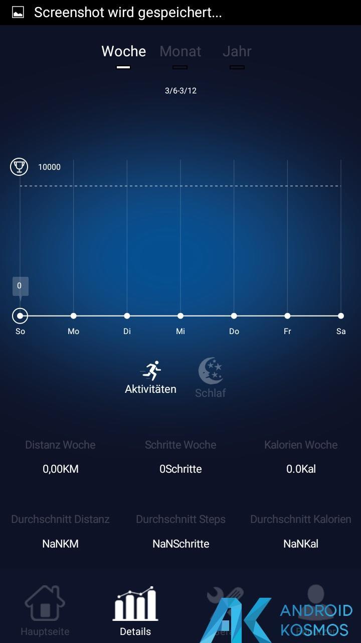 Test / Review: Elephone W2 Smartwatch - Stylisch und minimalistisch 34