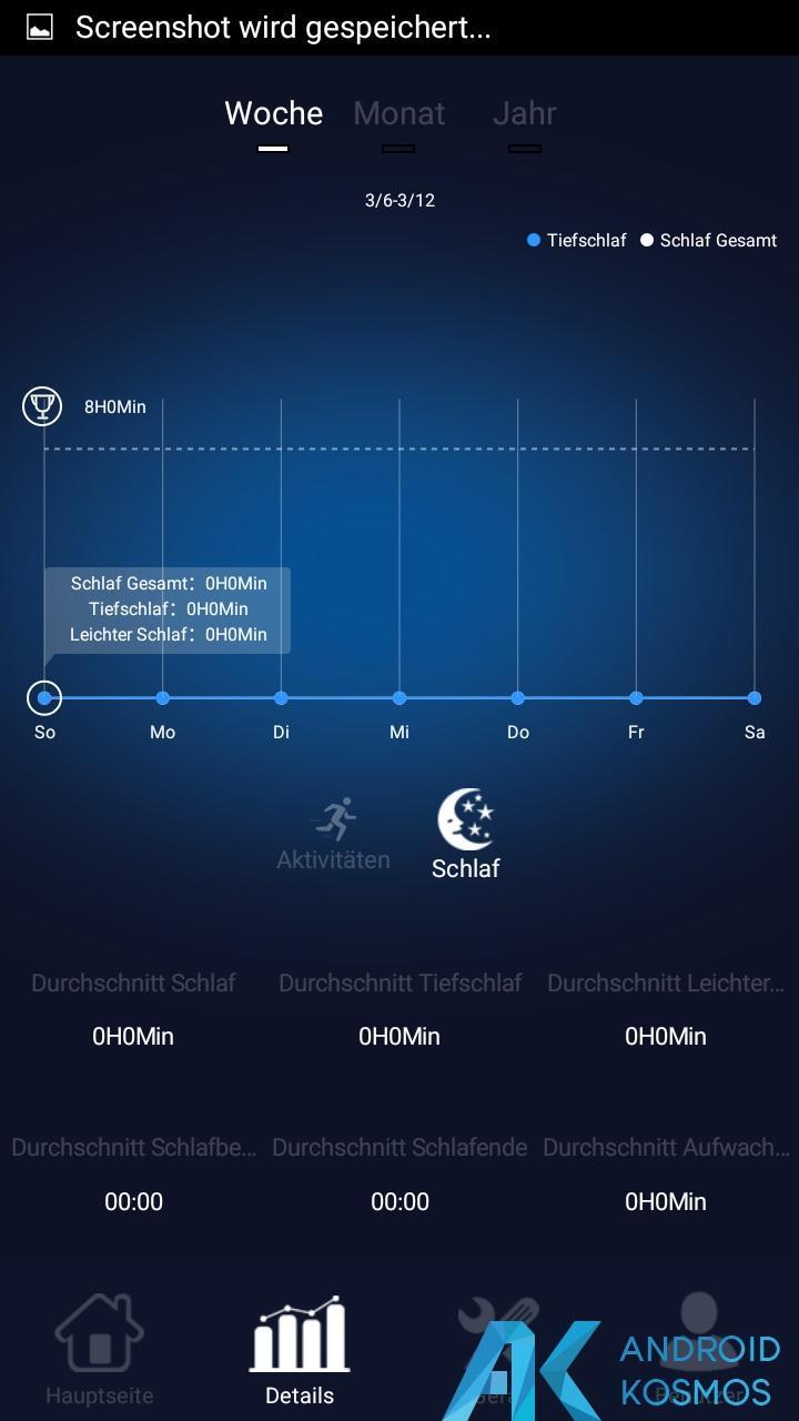 Test / Review: Elephone W2 Smartwatch - Stylisch und minimalistisch 35