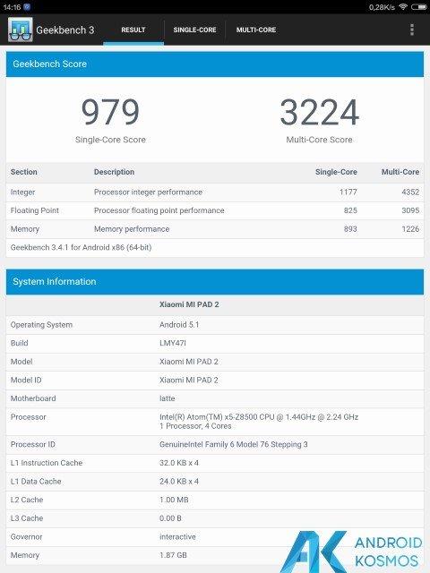 Test / Review: Xiaomi Mi Pad 2 – schickes Tablet im Metallgewand 47