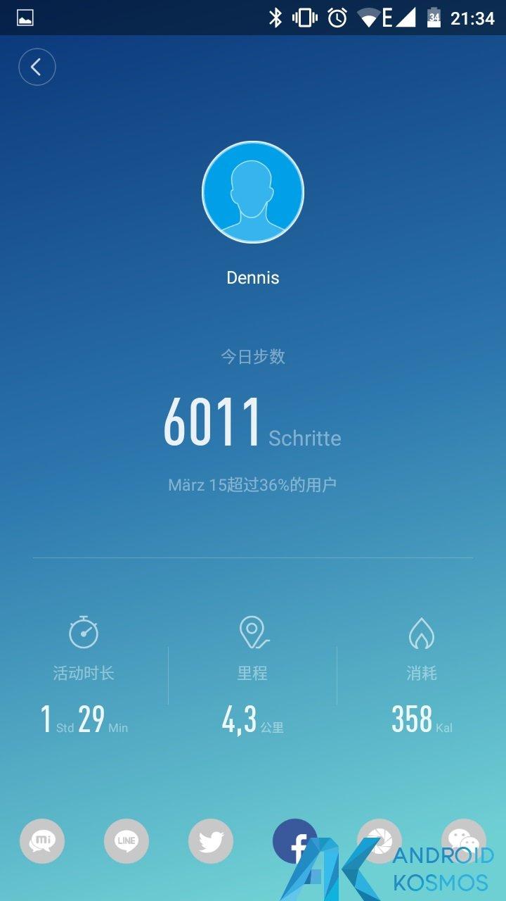 Update!! MiFit App in der Version 2.0.1 seit gestern verfügbar 7