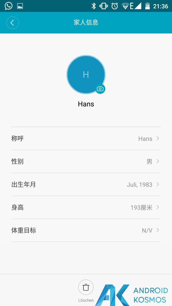 Update!! MiFit App in der Version 2.0.1 seit gestern verfügbar 4