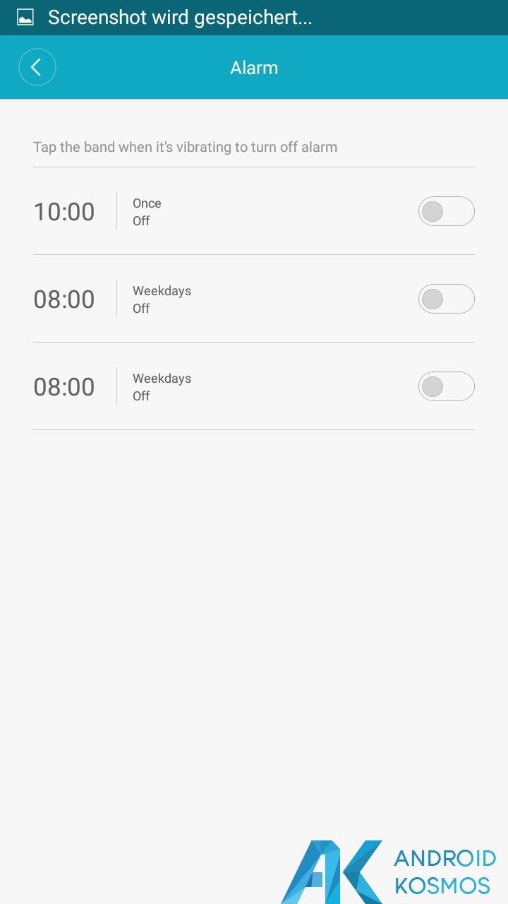 Update!! MiFit App in der Version 2.0.1 seit gestern verfügbar 22