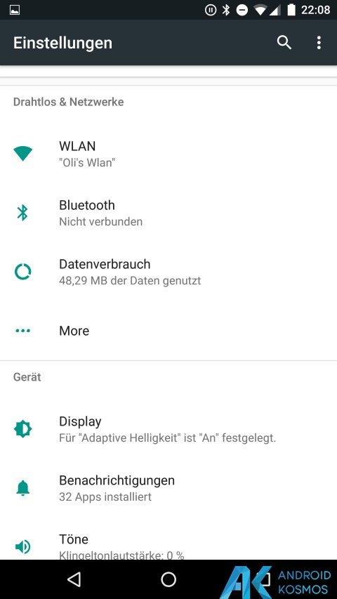 Google veröffentlich erste Developer Preview für Android N 26