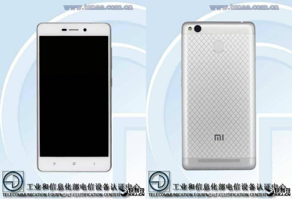 Xiaomi Redmi 3s mit Fingerabdrucksensor in der TEENA gesichtet 1