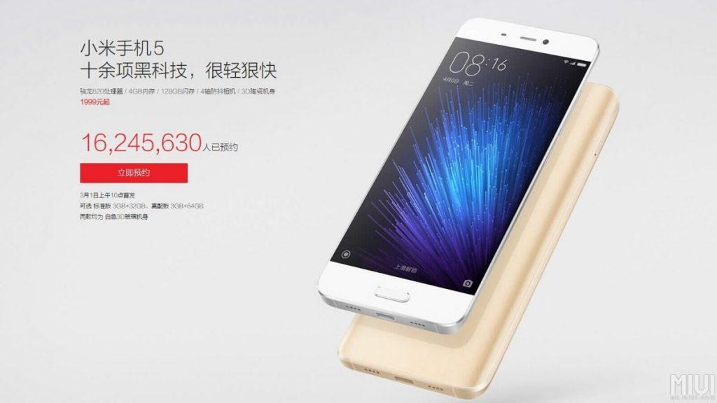 Xiaomi_Mi5_Reservierungen