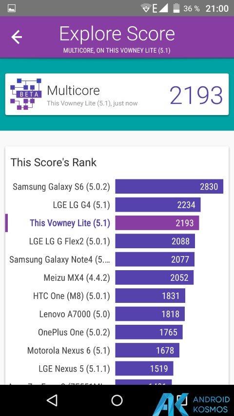 Test / Review: Elephone Vowney Lite - gutes Mittelklasse Smartphone mit Helio X10 113