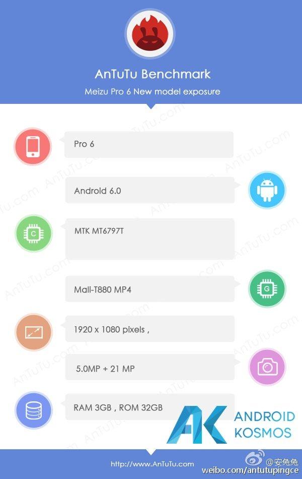 Meizu Pro 6 soll mit Helio X25 Prozessor, 6GB RAM und Edge-Display kommen 9