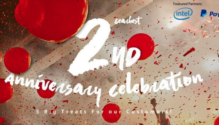Gearbest feiert 2-jähriges Jubiläum mit Super Schnappern 1