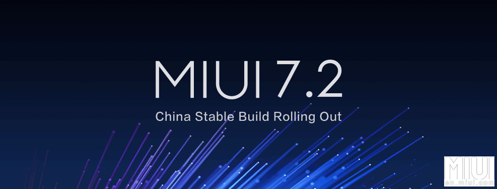 MIUI 7.2 China Stable ROMs wurden veröffentlicht