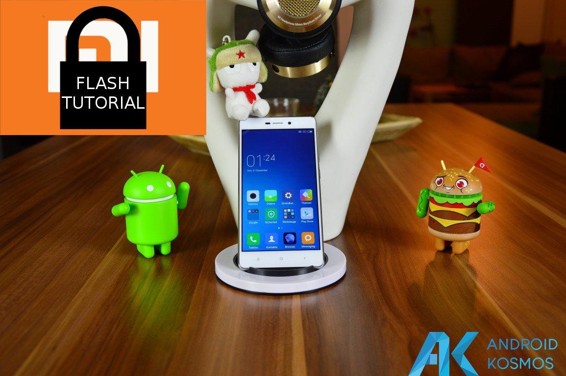 Howto: Xiaomi Redmi 3 deutsche Xiaomi.eu Rom installieren mit gesperrten Bootloader 25