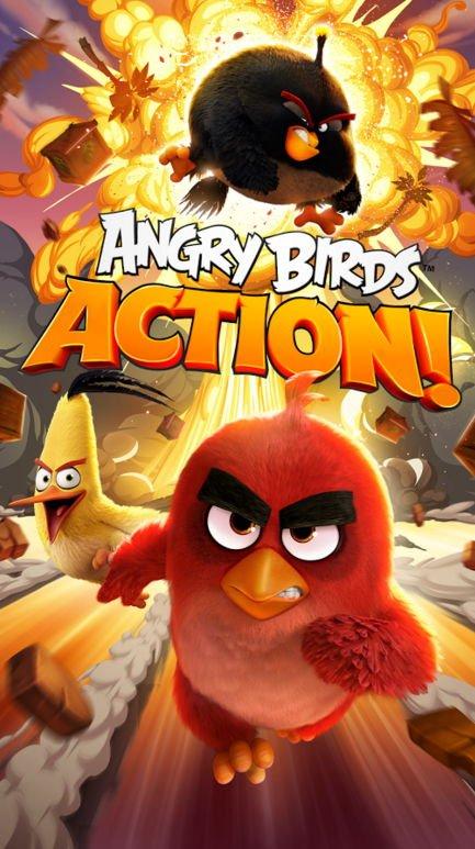 """Neues Game """"Angry Birds Action!"""" wurde veröffentlicht 3"""
