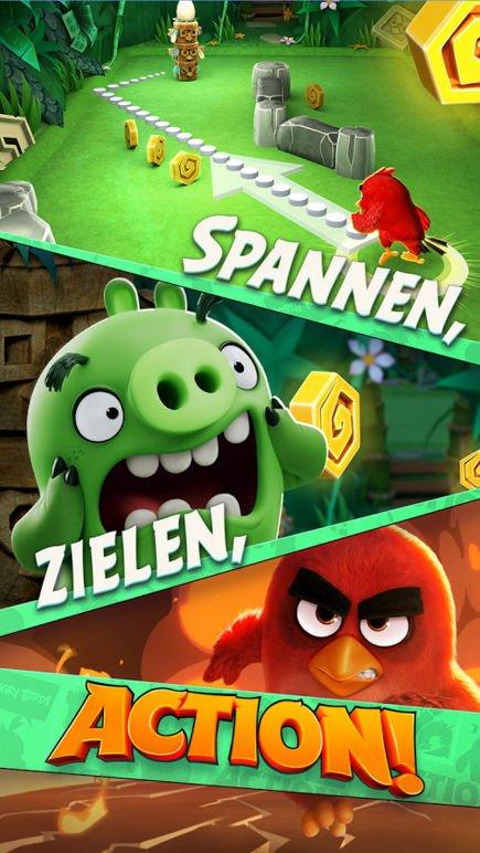 """Neues Game """"Angry Birds Action!"""" wurde veröffentlicht 4"""