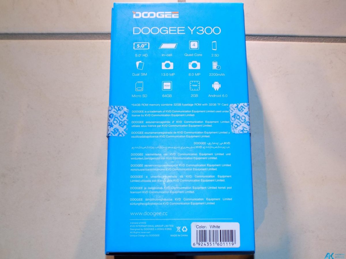Test/Review: Doogee Y300 - Gutes Asia LTE Budgetphone mit Vollmetallgehäuse 4