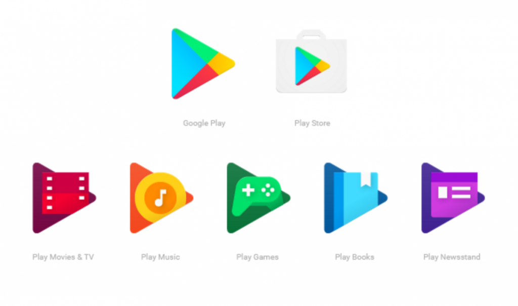 Google Play App Icons