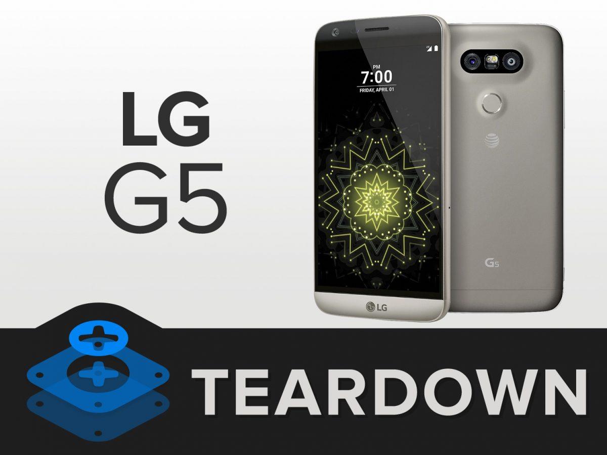 LG G5 erhält von iFixit sehr gute 8 von 10 möglichen Punkte und lässt sich leicht reparieren 3