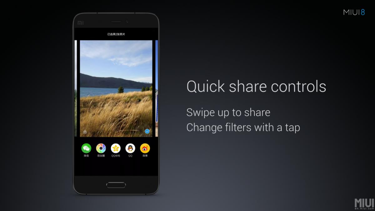 Xiaomi MIUI 8 - neue Oberfläche wurde offiziell vorgestellt 14