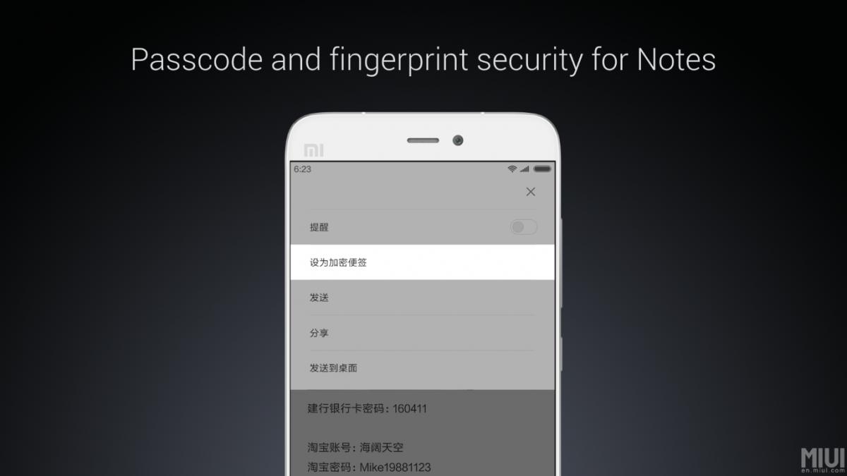 Xiaomi MIUI 8 - neue Oberfläche wurde offiziell vorgestellt 5