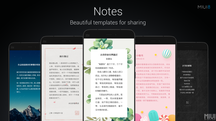 Xiaomi MIUI 8 - neue Oberfläche wurde offiziell vorgestellt 6