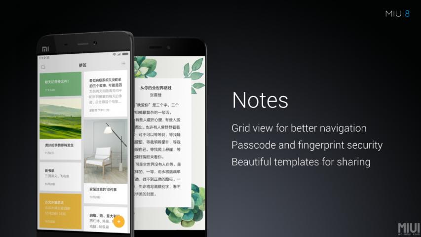 Xiaomi MIUI 8 - neue Oberfläche wurde offiziell vorgestellt 7