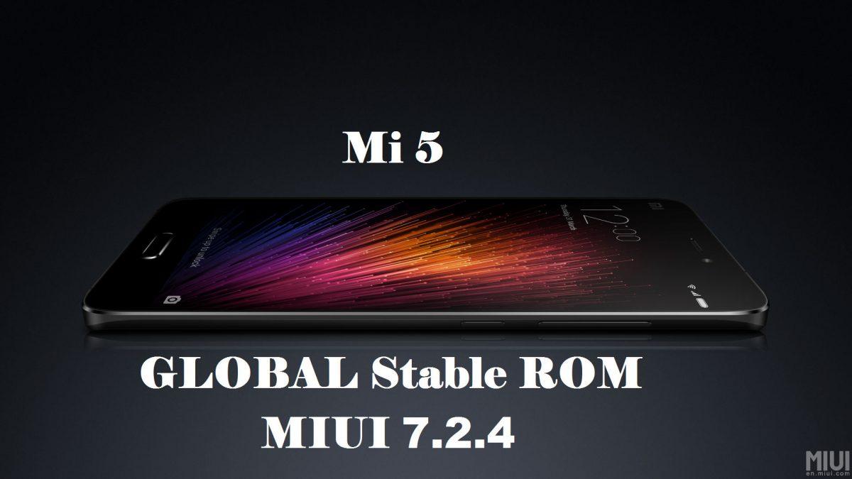 Xiaomi Mi5 Global Stable ROM 7.2.4.0 wurde veröffentlicht 4