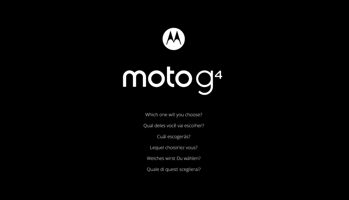 Auf der offiziellen Seite von Motorola in Indien gibt man bereits einen Ausblick darauf, dass sich Interessierte zwischen zwei Versionen entscheiden müssen