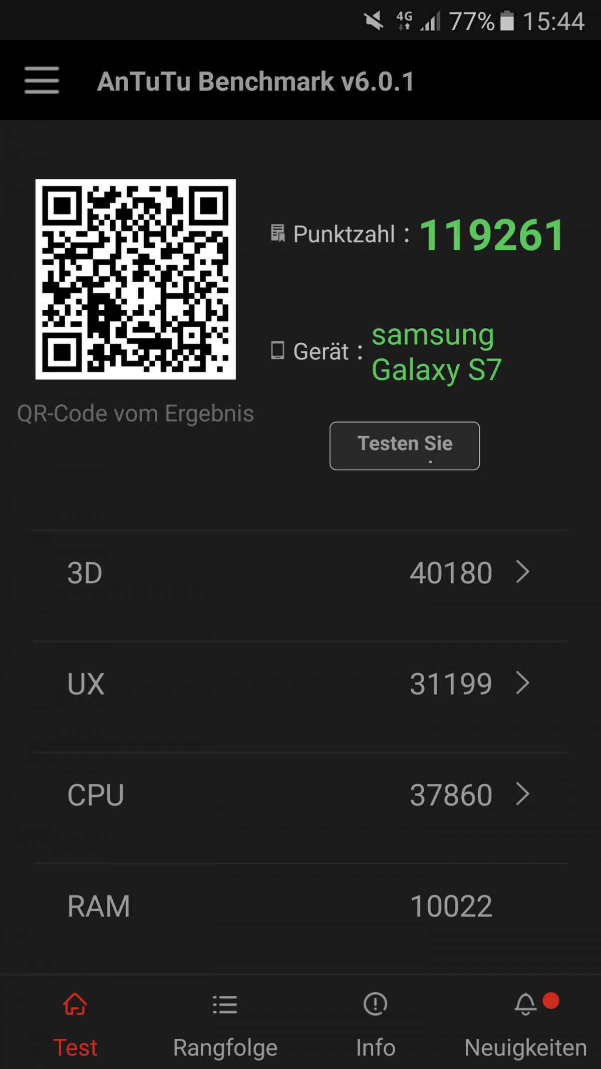 Test / Review: Samsung Galaxy S7 - das wasserdichte Flaggschiff 12