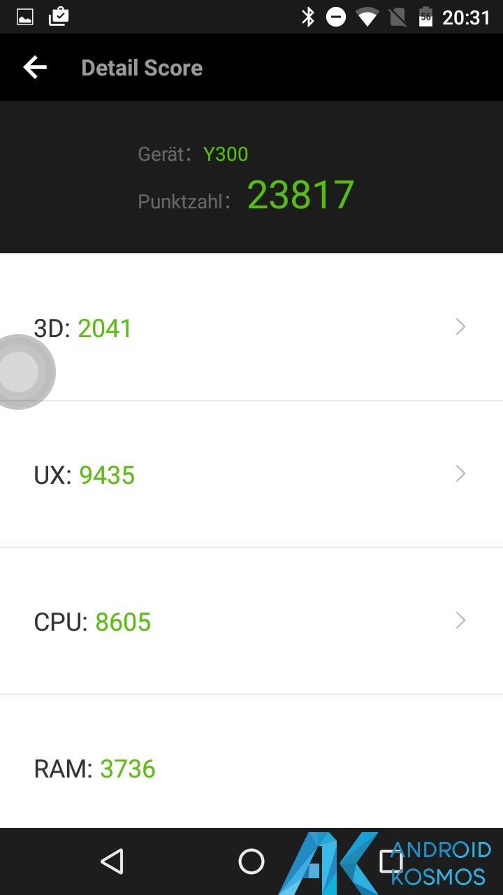 Test/Review: Doogee Y300 - Gutes Asia LTE Budgetphone mit Vollmetallgehäuse 41