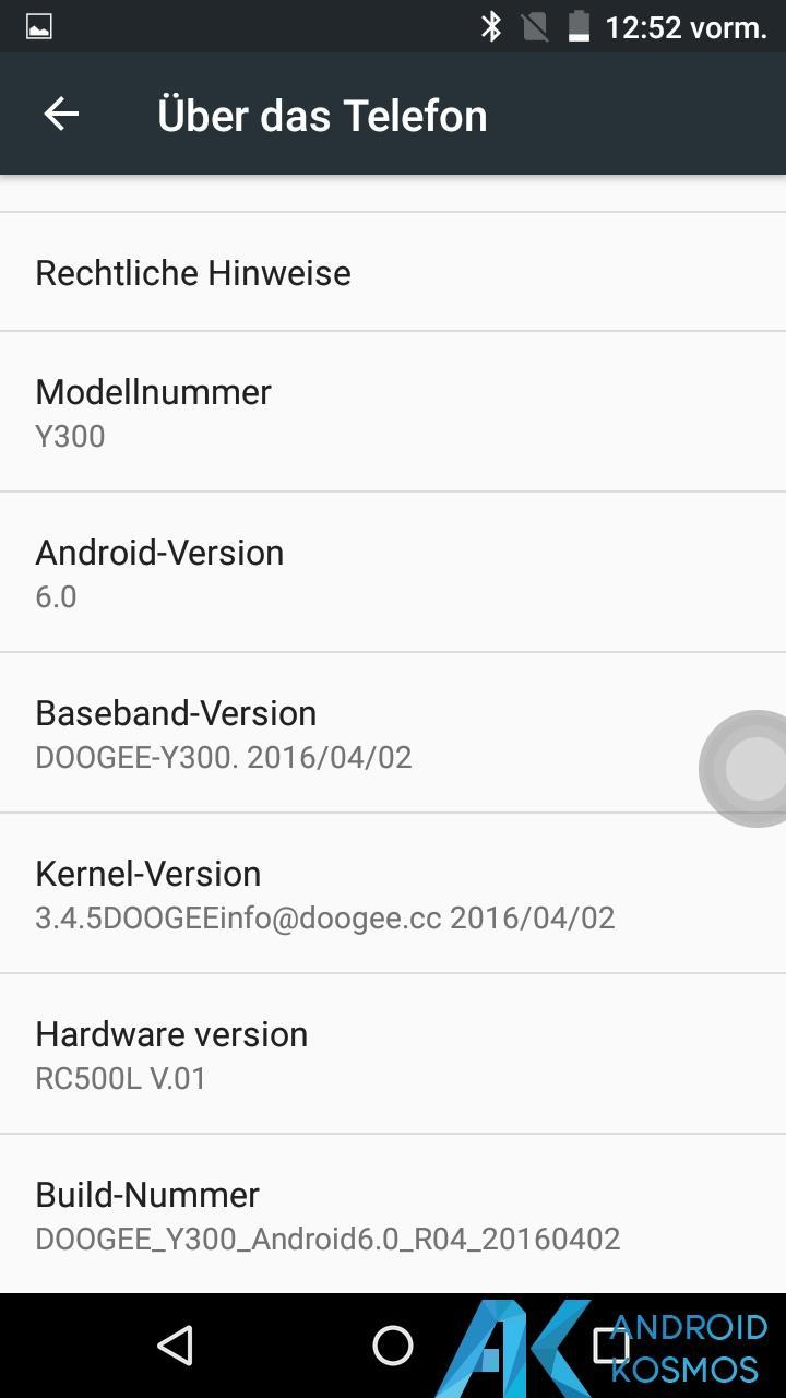 Test/Review: Doogee Y300 - Gutes Asia LTE Budgetphone mit Vollmetallgehäuse 20
