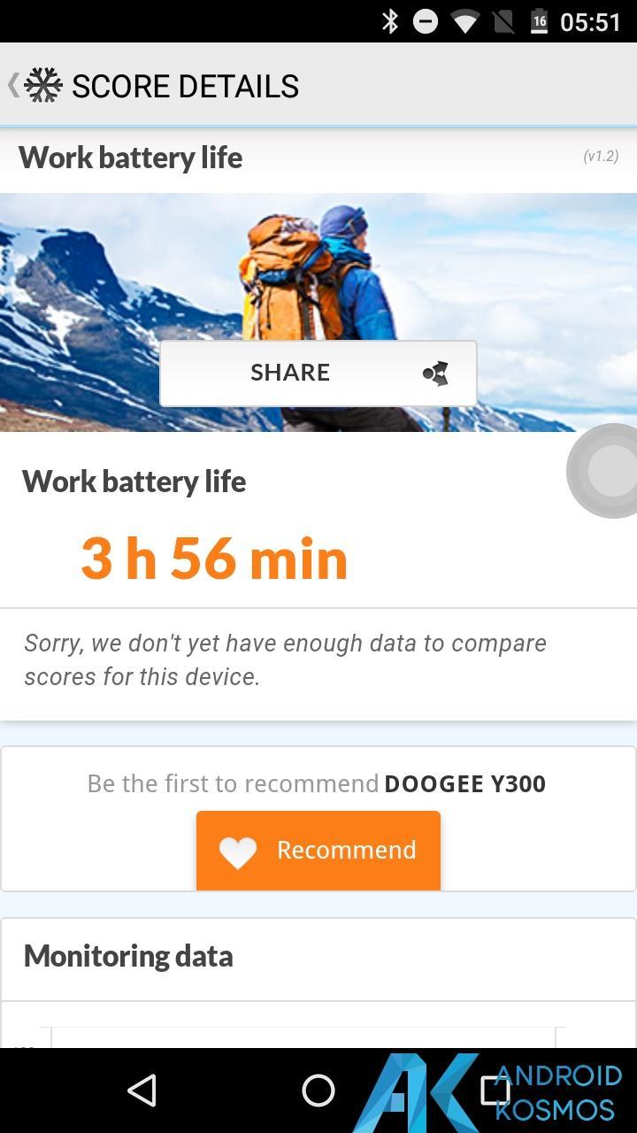 Test/Review: Doogee Y300 - Gutes Asia LTE Budgetphone mit Vollmetallgehäuse 55